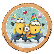 "Despicable Me 2 Minions Birthday Party 18"" Foil Mylar Balloon 1 ct Dave"