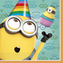 Despicable Me 2 Minions Birthday Party Luncheon Napkins 16 ct Dave