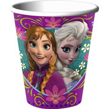 Disney Frozen 9 oz Paper Cups 8 Ct Party Elsa Anna