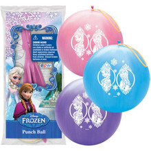 Disney Frozen Printed Punch Balloon Ball Toy Party Favor