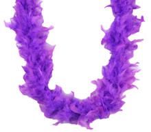 Light Purple Feather Boa 40gm 6 Ft Masquerade Costume Dress Up Chandelle 72""