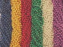 720 Asst 6 Colors Mardi Gras Beads Party Favors New