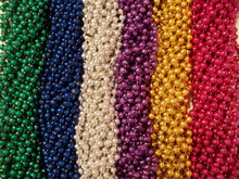 300 Asst Round Mardi Gras Gra Beads Necklaces Party Favors Huge Lot 25 Dozen