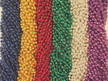 200 Asst Round Mardi Gras Gra Beads Necklaces Party Favors Huge Lot