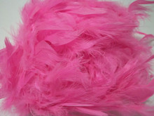 "Hot Pink Chandelle Feather Boa 72"" 6 ft Masquerade Bachelorette Party Costume 40gm"