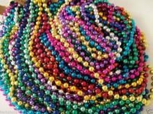 400 Multi Color Mardi Gras Beads Necklaces Party Favors Big Lot