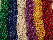 240 Multi color Mardi Gras Beads 20 Doz Necklaces Party Favors