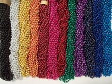 144 Choice 12 colors Mardi Gras Beads Party Favors Necklaces Metallic 12 Dozen