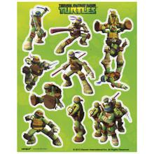 Teenage Mutant Ninja Turtles Stickers 4 Sheets Favors Party TMNT