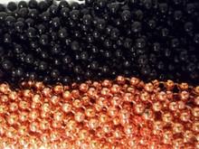 Halloween Orange Black Mardi Gras Beads Necklaces Party Favors