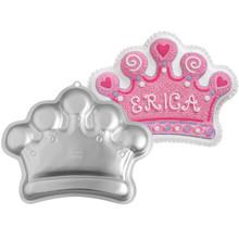 Wilton Crown Cake Pan Mardi Gras King Queen Birthday