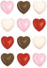 Hearts Candy Mold Wilton 15 Cavities 1 Design Valentine Treats