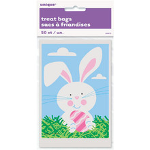 Easter Treat Bags Bunny and Easter Eggs Baking Basket Party 50 ct