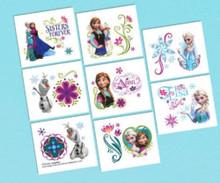 Frozen Disney Anna Elsa 16 ct Tattoos Party Favors Supplies Birthday