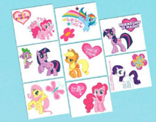 My Little Pony Birthday Party 16 Tattoos Favors Party Supplies