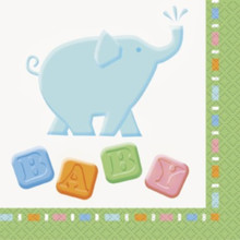 Animal Crackers Zoo Baby Shower Party 16 Napkins Beverage