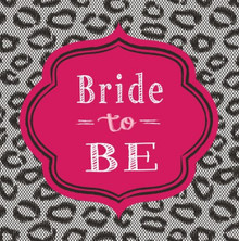 Bridal Bash 16 Luncheon Napkins Bachelorette Lingerie Shower Party