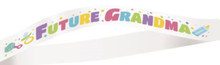 "Baby Shower ""Future Grandma"" Sash Party Supplies"