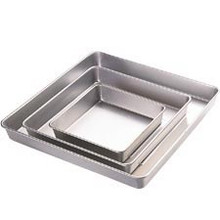 Square Wilton Performance Pan 3 pc Set 8,12,16 Pans