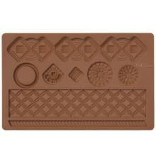 Macrame Fondant Gum Paste Mold Molds Wilton Cake Decoration lattice