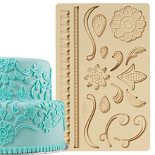 Lace Fondant Gum Paste Mold Molds Wilton Cake Decoration