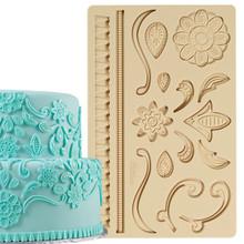 Lace Fondant Gum Paste Mold Molds Wilton Cake Decoration