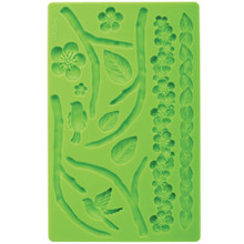 Nature Fondant Gum Paste Mold Molds Wilton Cake Decoration Flowers Leaves