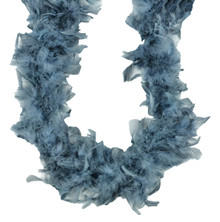 Chandelle Feather Boa Gray 45 gm 72 in 6 Ft