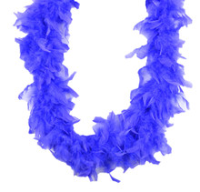 Chandelle Feather Boa Periwinkle 45 gm 72 in 6 Ft