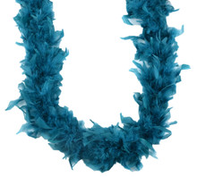 Chandelle Feather Boa Teal 45 gm 72 in 6 Ft