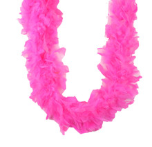 Chandelle Feather Boa Candy Pink 45 gm 72 in 6 Ft