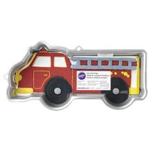 Firetruck Cake Pan Aluminum Wilton