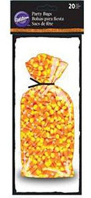 Wilton Halloween Candy Corn 20 Treat Bags Party
