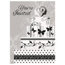 Victorian Wedding 8 Ct Invitations Bridal Shower Engagement Party
