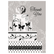 Victorian Wedding 8 Ct Thank You Notes Bridal Shower Engagement Party