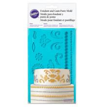 Damask Fondant Gum Paste Mold Molds Wilton Cake Decoration
