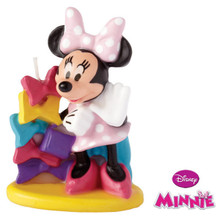 Minnie Mouse Clubhouse Candle Party Wilton Cake Topper