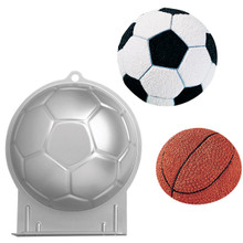 Wilton Soccer Ball Mold Cake Pan Basketball Beach Ornament Spider
