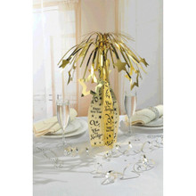 Happy New Years Eve Champagne Bottle Centerpiece Party