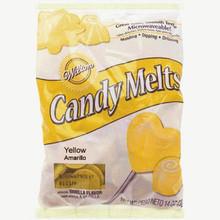 Yellow Wilton Candy melts 12 oz Molds Holidays Vanilla Flavor