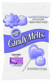 Lavender Wilton Candy melts 12 oz Molds Holidays Vanilla Flavor