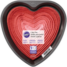 "Wilton Non-stick 9"" Heart Cake Pan Valentines Wedding Sweet 16"