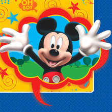 Mickey Mouse Clubhouse 16 Luncheon Napkins Birthday Party