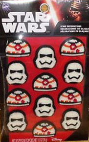 Star Wars Icing Decorations Force Awakens VII 12 Wilton
