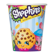 Shopkins Paper 9 oz Hot Cold Cups 8 oz Birthday Party Supplies