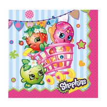 Shopkins Paper Beverage Napkins 8 Ct Birthday Party Supplies