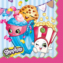 Shopkins Paper Luncheon Napkins 16 Ct Birthday Party Supplies