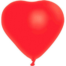 "Red Heart 6 12"" Latex Balloons Party Valentine's Day Anniversary"