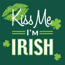 Kiss Me I'm Irish St Patricks Day Fun 16 Beverage Napkins Shamrock
