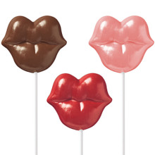 Wilton Candy Mold Pucker Up Lips Lollipop Valentines Day